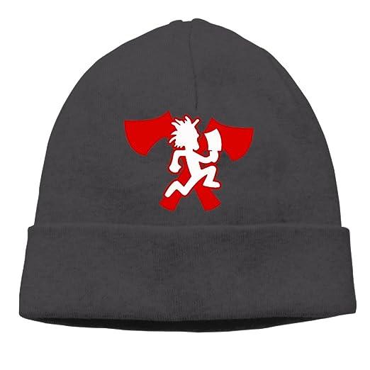 0a108dfcfc5 XiaoLiXun Hatchetman Icp Logo Winter Knit Cap Woolen Hat Cap For Unisex  Black
