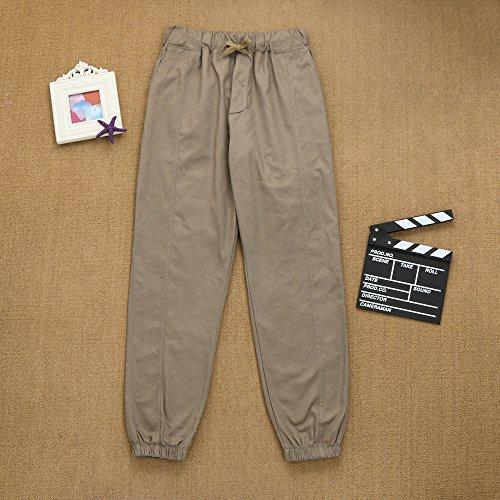 Tinta Jeans Con Uomo Da Pastoia Pantalone Feixiang Lavoro Casual Invernali In Pantaloni Unita Az0UwAqFX