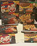 4 LOT Official Nintendo For Display Only SNES Empty Game Boxes Ken Griffey,F-zero, kirby's Dream Course, Vegas stakes by Nintendo