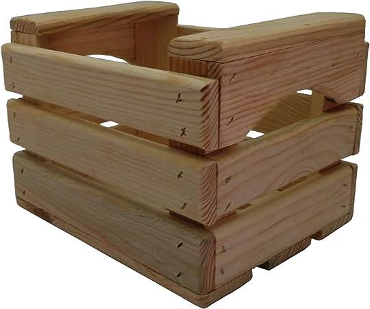 En Maderas - Caja de Almacenamiento, Caja decoración, Caja de Fruta (23x18x17 cm): Amazon.es: Hogar