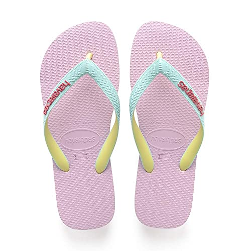 a72e812c9cb2eb Havaianas Unisex Adult s Top Mix Flip Flops Pink (Rose Quartz Ice Blue 7937)