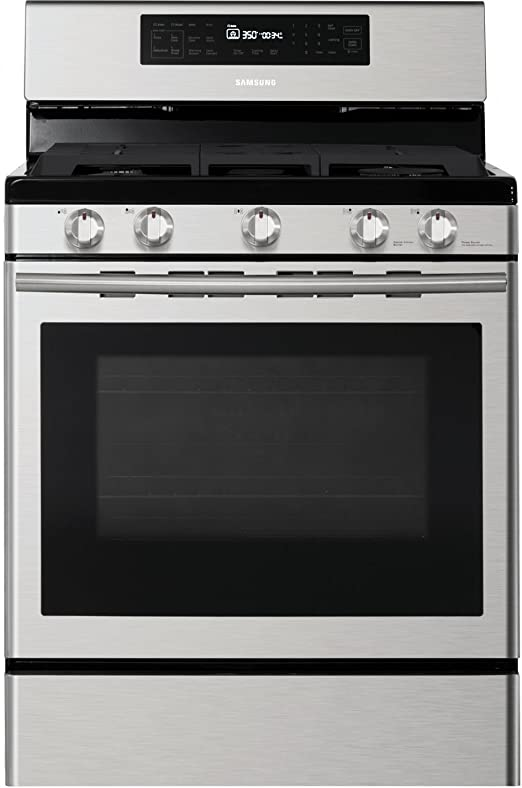 Amazon.com: Samsung NX58H5600SS Cocina de gas independiente ...
