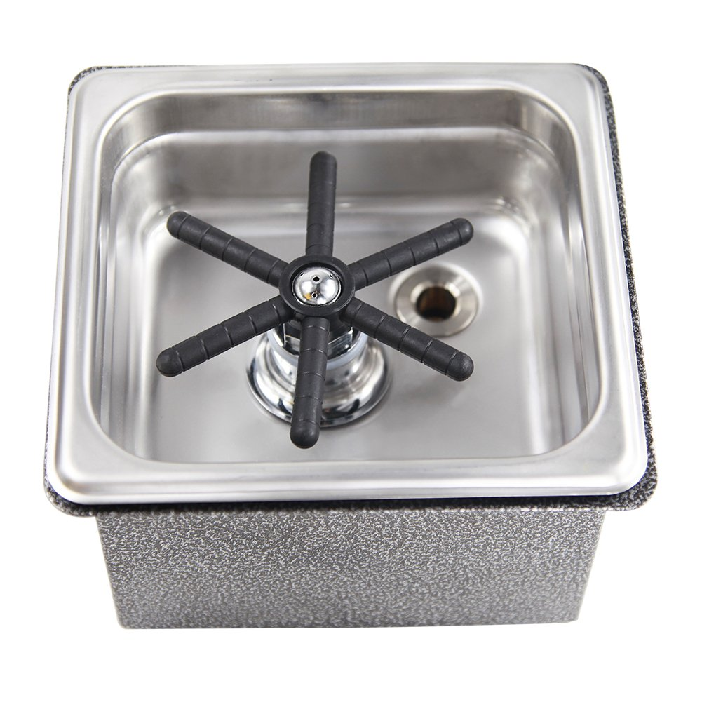 SV TECHポータブルバー喫茶店の水圧ポットウォッシャー 水槽ガラスウォッシャー  B01KZ8GU2I