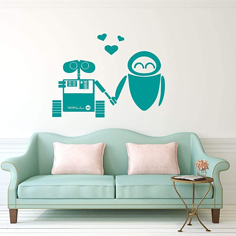 WALL-E 3D Smashed Wall Decal Removable Wall Sticker Disney Walle Home Art H223