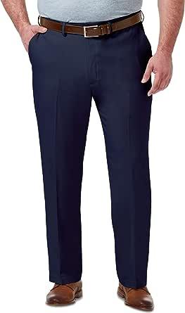 Haggar Mens HD90650 Big & Tall Premium Comfort Classic Fit Flat Front Pant Dress Pants
