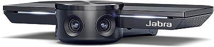 Jabra Panacast Panorama 4k Videokonferenzkamera Plug And Play Videokamera Mit 180 Sichtfeld Für Konferenzräume Videokonferenzen Elektronik