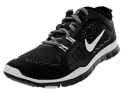 Womens Nike Free 5.0 TR Fit 4 Breath Black Cool Grey White Black White  77783264c