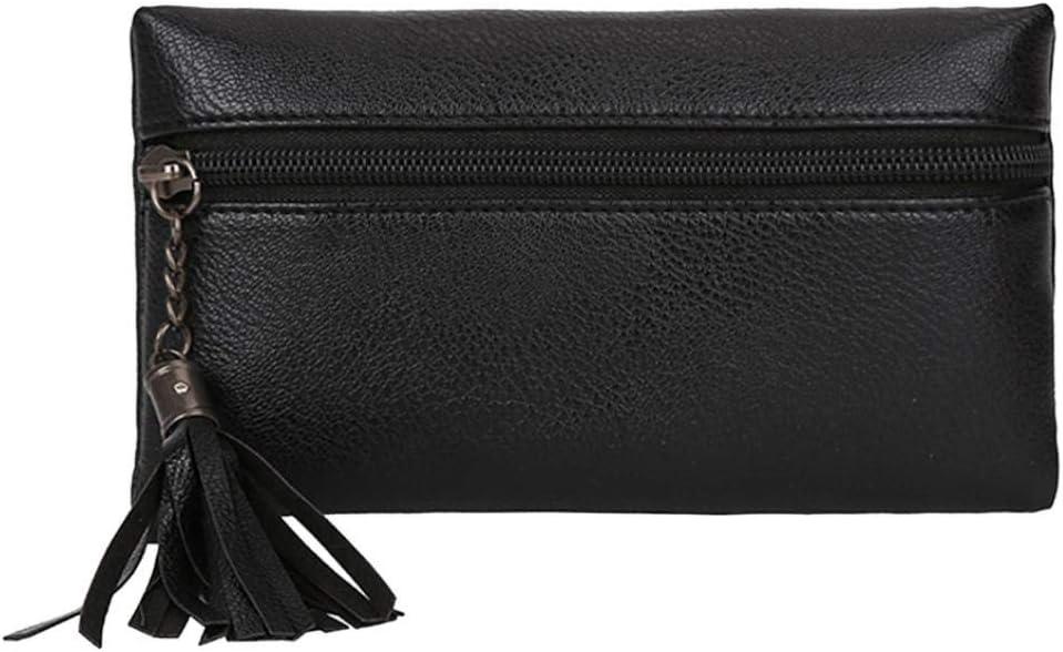 Sunshinehomely Fashion Women Girls Pure Color Tassel Leather Waist Pack Bags Handbag Messenger Shoulder Bag Chest Bag