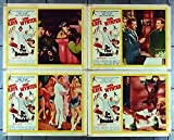 On The Double (1961) Original Paramount Pictures Scene Lobby Cards (11x14) Movie Posters DANNY KAYE DIANA DORS scene card !! Film Directed by MELVILLE SHAVELSON