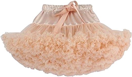 JXUFUFOO Niñas Faldas de Princesa-Bebés Niñas Tul Tutú de ...