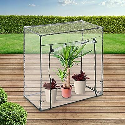 Invernadero de Jardín - 101/50.5/99.5 cm, 0.51 m³ de Volumen - Invernadero Compacto, Invernadero con Cubierta, Invernadero Plástico: Amazon.es: Jardín