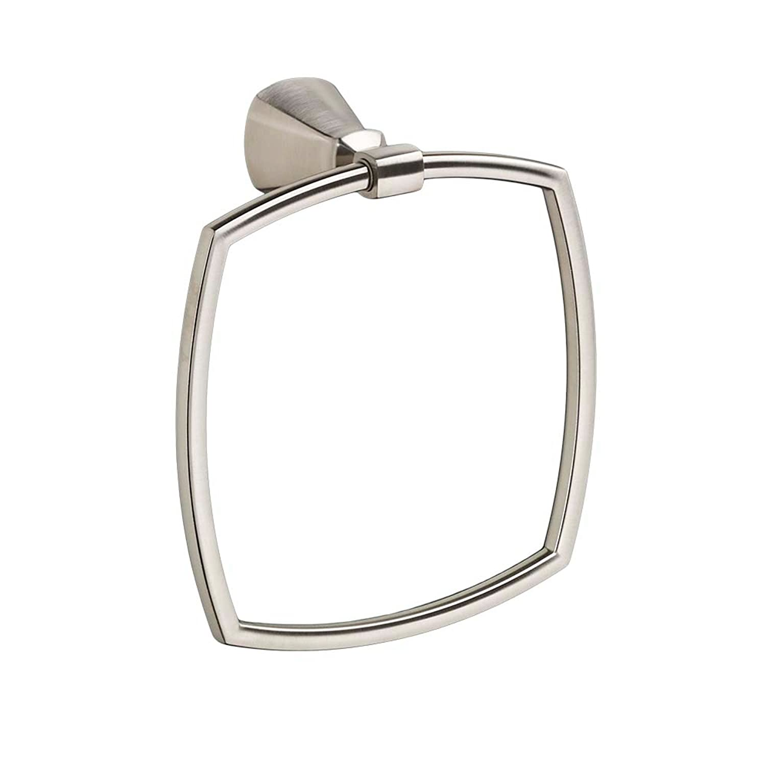 American Standard 7018190.295 Edgemere Bathroom Towel Ring, Brushed Nickel