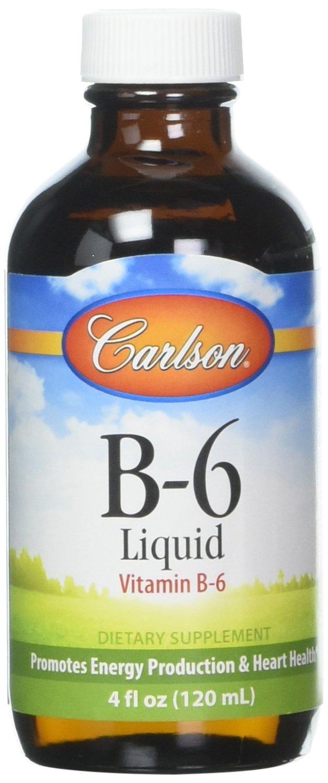 Carlson Labs Vitamin B-6 Liquid, 4 oz