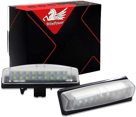 Illuminazione Targa Luce Targa Ford Kuga 1 dal BJ 08-S-MAX