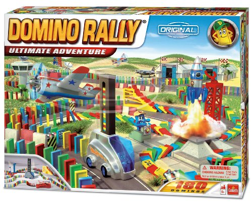 Domino Rally Ultimate Adventure - STEM-based Domino Set for Kids
