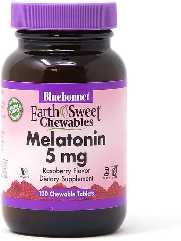 BLUEBONNET Nutrition EARTHSWEET® CHEWABLES MELATONIN 5 mg
