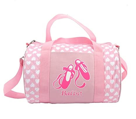 Image Unavailable. Image not available for. Color  Peachnblue Quilted Dance  Ballet Duffle Bag for Girls bc0b550865