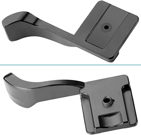 Gadget Career Black Thumb Grip for Panasonic Lumix DMC-GM5 DMC-GX1 DMC-GF2 DMC-LX5 DMC-LX100