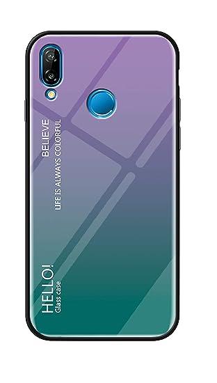 new arrivals 584e6 91336 Amazon.com: Huawei Nova 3i Case,DAMONDY Glitter Gradient Shockproof ...