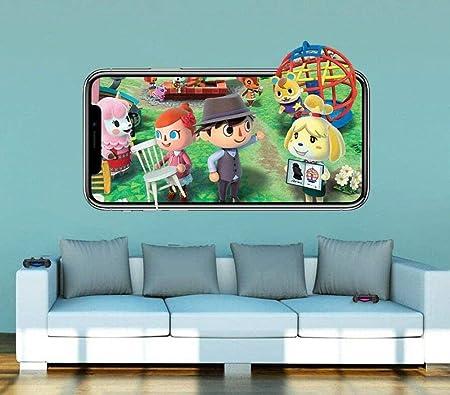 Ytsdd Pegatinas de pared 3D Murales Papel tapiz Animal