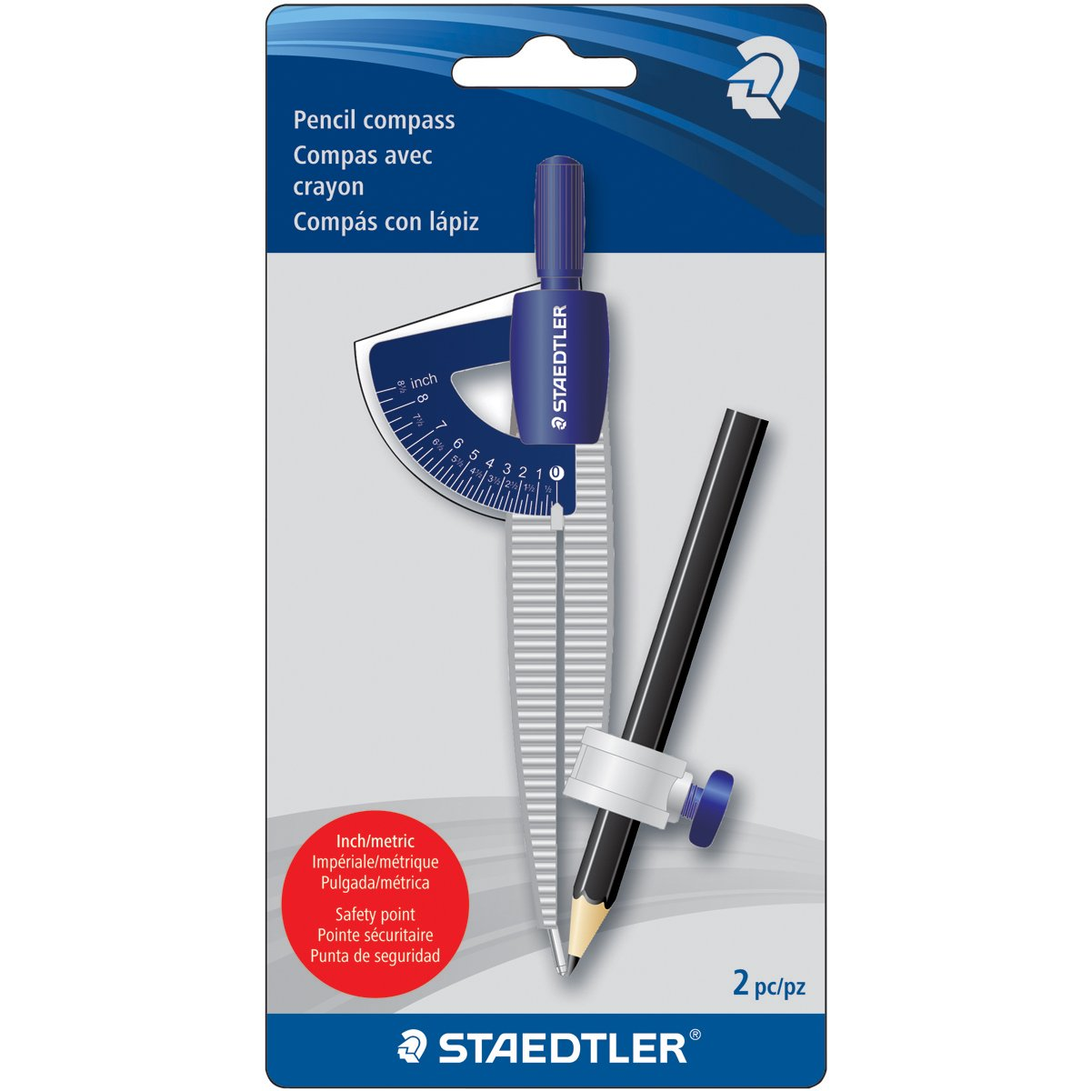Staedtler Compass Measuring Tool (557 SCBKA6) by STAEDTLER (Image #2)
