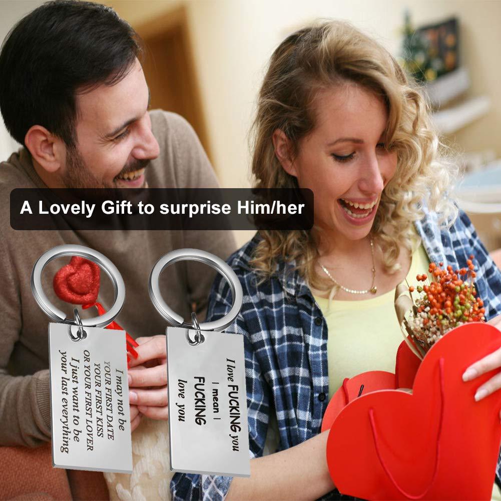 9acd3177ebd05 Amazon.com   2 Pack Sweet Gift for Boyfriend Girlfriend