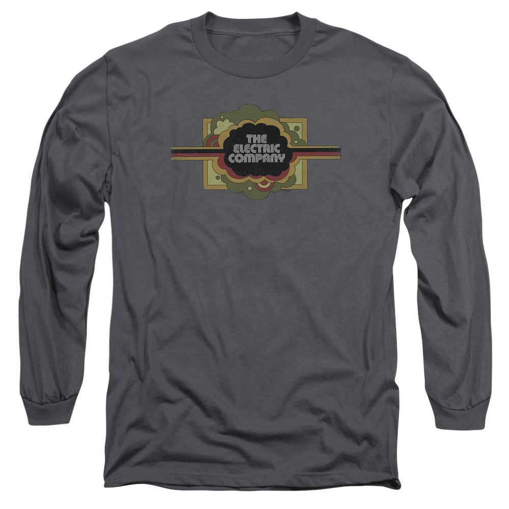 MMM Merchandising Electric Company Mens Logo Long Sleeve T-Shirt