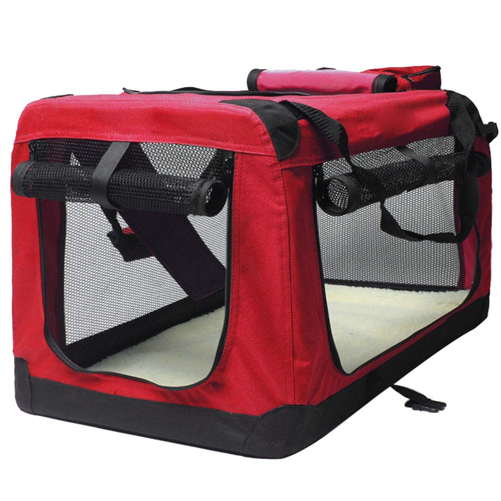 27.5x20x20 in NIANXINAN Pet Travel Carrier Comfort Foldable Travel Carriers For Dogs And Cats Pet Cage Bag