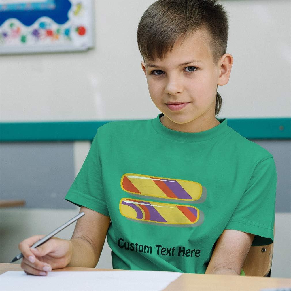 Custom Toddler T-Shirt Equality Colorful School Graduation Boy /& Girl Clothes