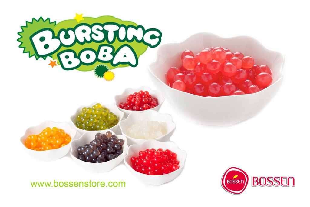 Bursting Popping Boba 3 Flavor Fun Pack by Bossen