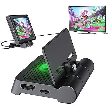 OIVO HDMI TV Dock Adaptador para Nintendo Switch, Base de Carga ...