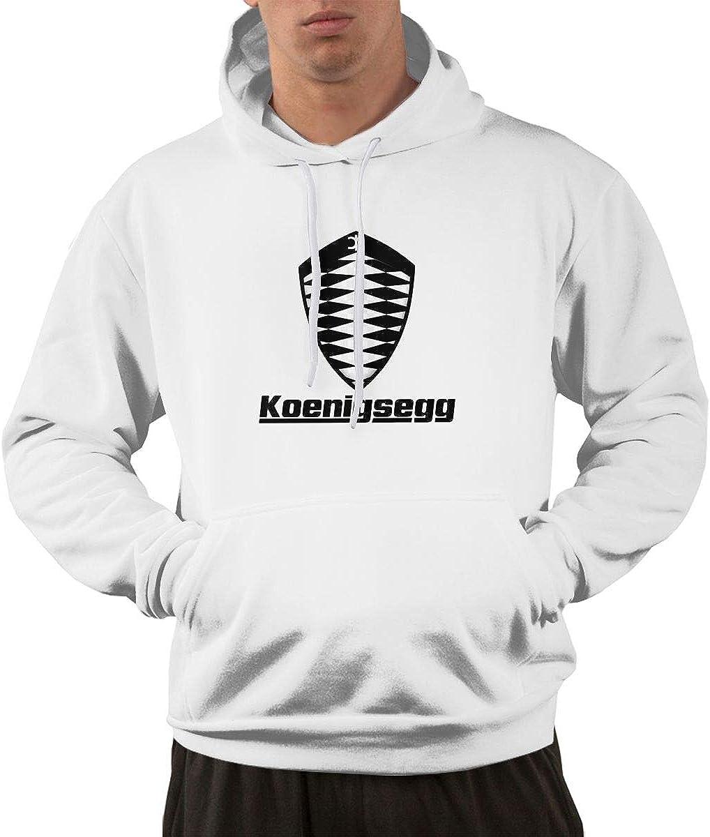 STDONE Mans Stylish Koenigsegg Automotive AB-2 Sweatshirt Black