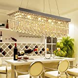 HOMEE Ceiling Chandelier-Creative Chandelier Restaurant Light Led Crystal Light ,9025Cm Three-Color Led