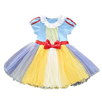 d1ca1d4583c6b (MISOAMISO) ディズニープリンセス 子供用 ドレス キッズ ワンピース 白雪姫 アリス アリエル 人魚姫 コスチューム