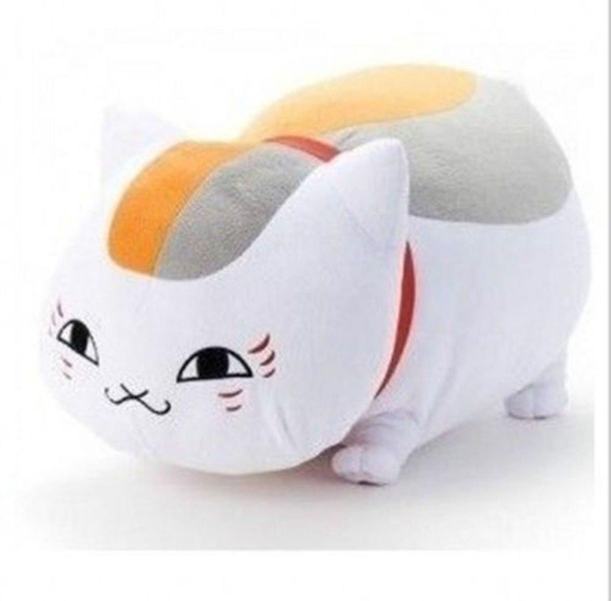 8Anime Natsume's Book of Friends Nyanko Sensei Yuujinchou Cat Plush Toy Dolls HiRudolph