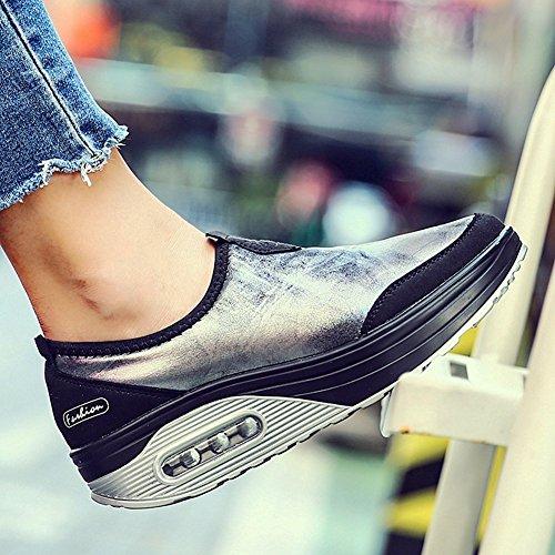 Chaussures De Sport Athlétiques De Mode De Cybling Pour Des Espadrilles De Coin De Marche Extérieure De Déplacement De Femmes