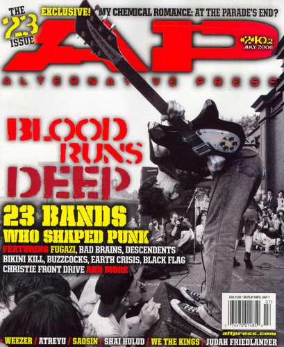 Alternative Press, July 2008 Issue