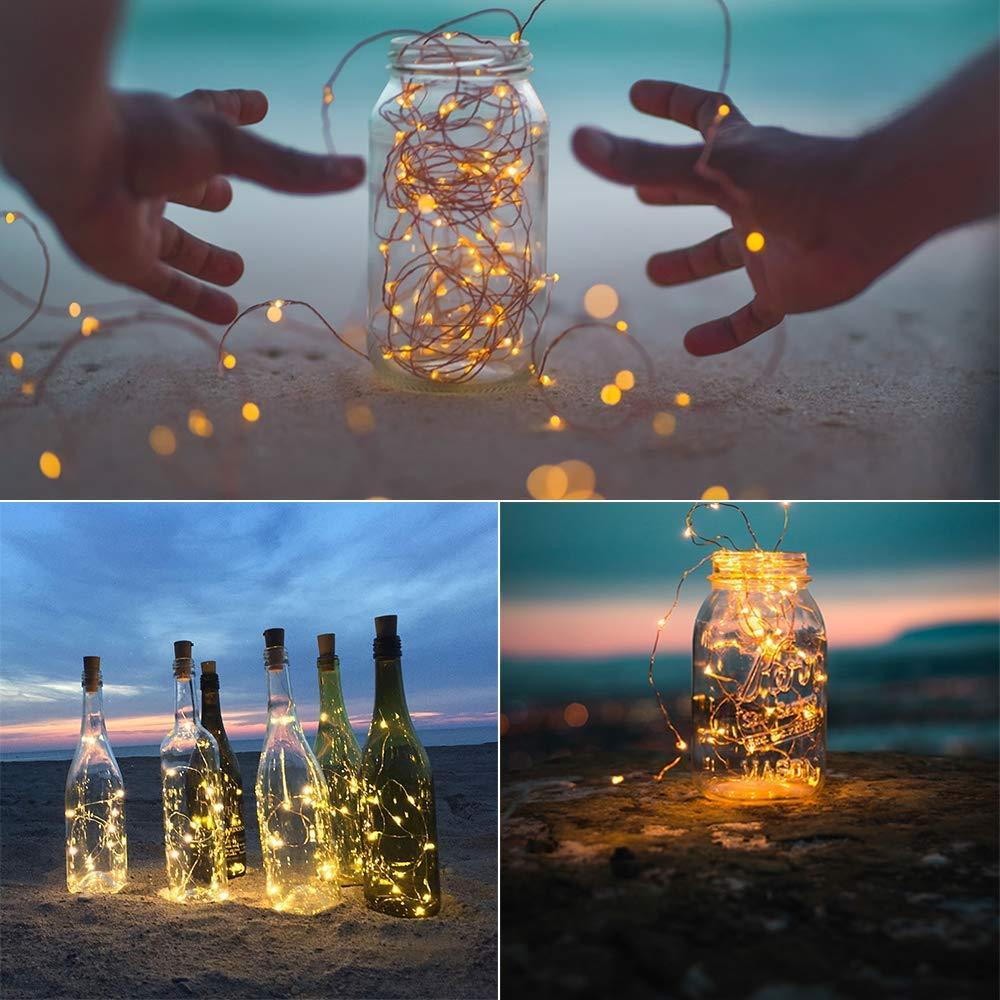 DOOK Luz de Botella Luz de Bricolaje,Luz Ambiente,Lámpara ...