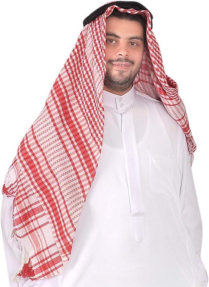 Egypt Bazar Tradicional Tocado Árabe Jeque – Araber Pañuelo de ...