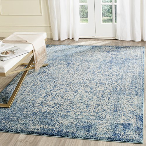 Amazon Com Safavieh Evoke Collection Vintage Oriental Blue And