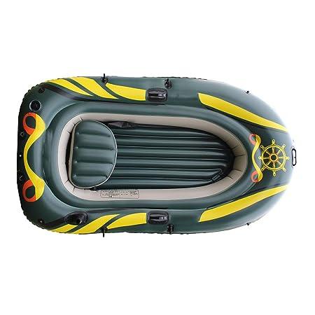 MFWFR Embarcación Neumática, Kayak, Kayak Inflable,Remos y Bomba ...