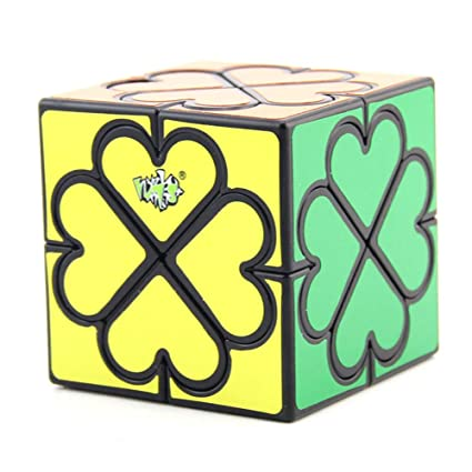 Alician 5.7CM Diagonal Turning Loving Heart Pattern Magic Cube Stress Reliever for Student