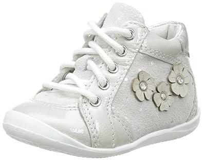 Noël Mini Bet, Chaussures Bébé Marche bébé Fille, Blanc Cassé (117 Nuage) 5ef8d6818f1c