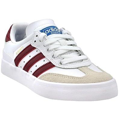 promo code b9d49 da47b Amazon.com  adidas Mens Busenitz Vulc RX Athletic  Sneakers White  Shoes