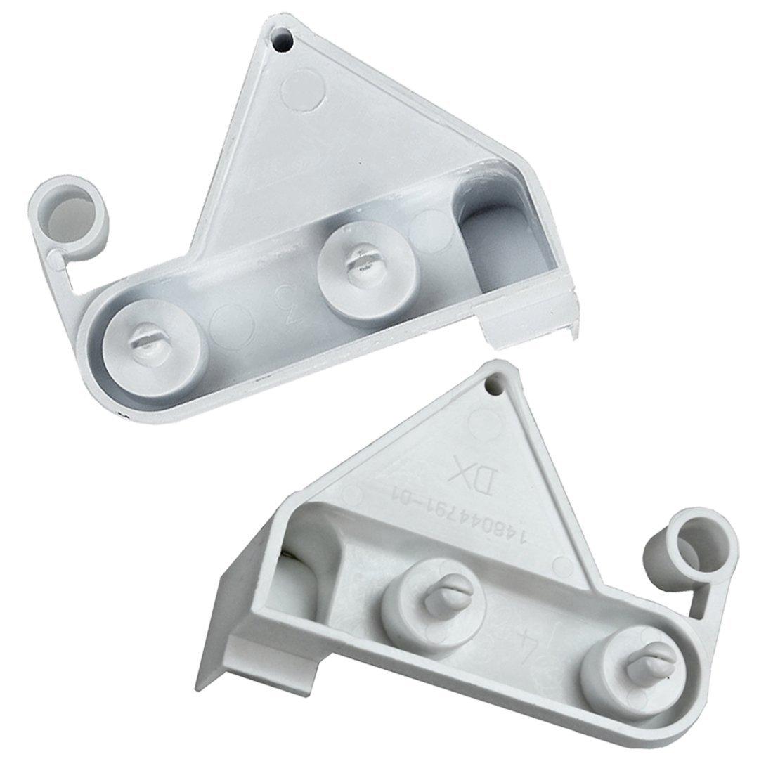 per aletta del cassetto del congelatore 1 coppia di cerniere originali Ariston sinistra e destra