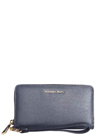 fc9993854b0 Michael Kors Michael By Damen 32T4gtve3l414 Blau Leder Brieftaschen ...