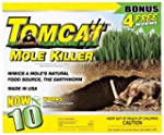 Tomcat Mole Killer 10 Pack Worm Formula BL34300 048745343006