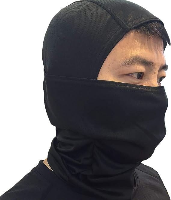 Tianhaik Máscara de Pasamontañas Máscara de Cara Completa a Prueba de Viento Al Aire Libre para Ciclismo Máscara de Protección de Cuello Facial a Prueba de Polvo: Amazon.es: Deportes y aire libre