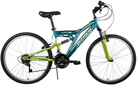 Bicicleta Bicicleta 20 Schiano Camino Mountain Bike Verde/Amarillo ...
