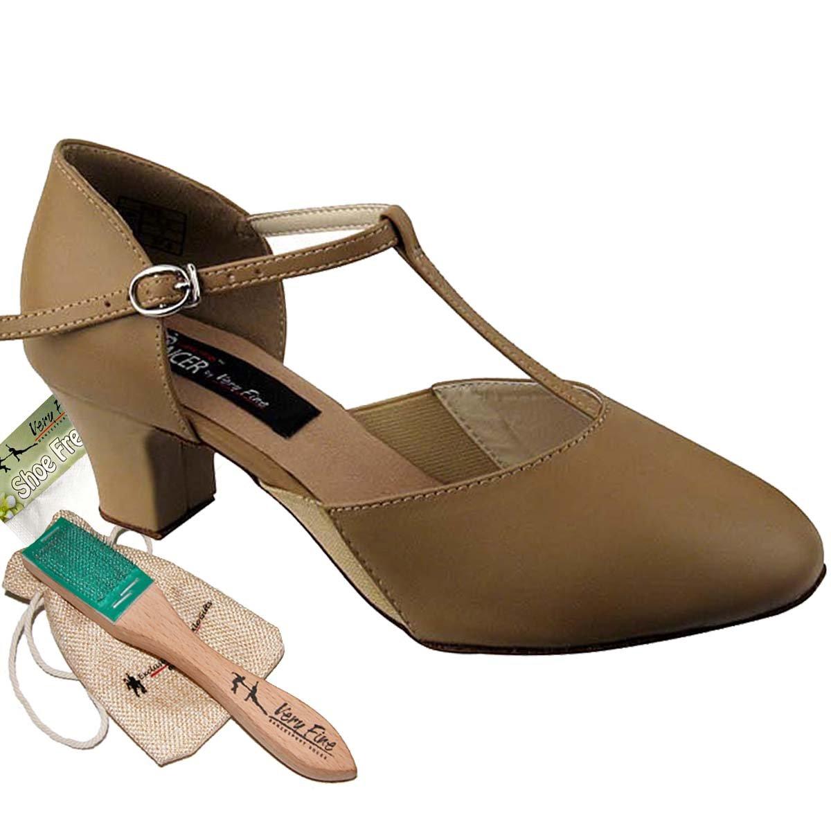 【驚きの価格が実現!】 [Very Fine Fine Dance Shoes] レディース B075F91QBY US 5 (B,M) (B,M) US ベージュレザー ベージュレザー 5 (B,M) US, オオシマチョウ:7a3eec09 --- a0267596.xsph.ru